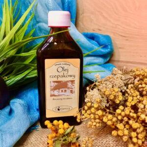 rzemieślniczy zimnotłoczony olej rzepakowy