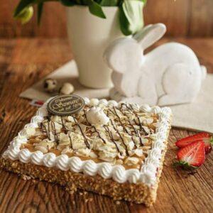 ciasto wielkanocne z kajmakiem