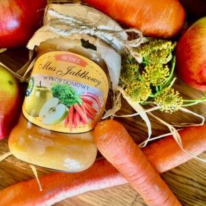 mus marchewkowo-jabłkowy bez cukru